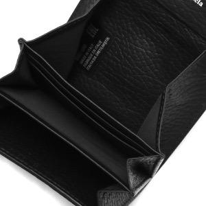 メゾンマルジェラ コインケース(小銭入れ)/ミニ財布/カードケース 財布 レディース ステッチ ブラック S56UI0149 P0399 T8013 MAISON MARGIELA