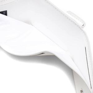 メゾンマルジェラ 三つ折り財布/ミニ財布 財布 レディース ステッチ ホワイト S56UI0150 P4303 T1003 MAISON MARGIELA