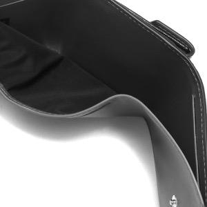 メゾンマルジェラ 三つ折り財布/ミニ財布 財布 レディース ステッチ ブラック S56UI0150 PR044 T8013 MAISON MARGIELA
