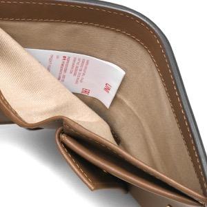 マルニ 二つ折り財布 財布 レディース スクエア モスストーングリーン&ペリカングレー&ゴールドブラウン PFMOQ14U13 LV589 Z473N MARNI