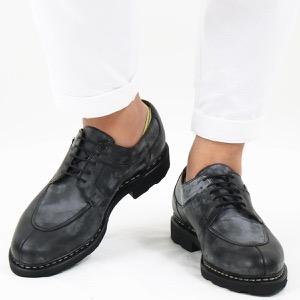 パラブーツ シューズ/革靴 メンズ アヴィニョン グリフ 2 ブラック AVIGNON NOIRE-LIS NOIR 705109 PARABOOT
