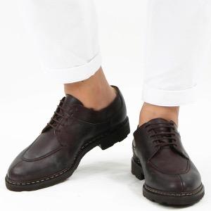パラブーツ シューズ/革靴 メンズ アヴィニョン グリフ 2 マロンブラウン AVIGNON MARRON-LIS CAFE 705112 PARABOOT
