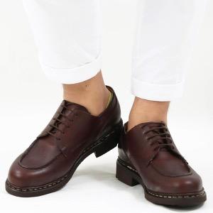 パラブーツ シューズ/革靴 メンズ シャンボード テックス オックスフォード マロンブラウン CHAMBORD MARRON-LIS CAFE 710707 PARABOOT