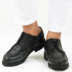 パラブーツ シューズ/革靴 メンズ シャンボード テックス オックスフォード ブラック CHAMBORD NOIRE-LIS NOIR 710709 PARABOOT