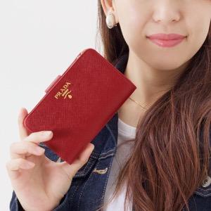 プラダ 二つ折り財布 財布 レディース サフィアーノ メタル フォーコレッド 1ML225 QWA F068Z PRADA