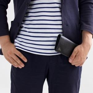 プラダ 長財布 財布 メンズ サフィアーノ メタル ブラック 2MV836 QME F0002 PRADA