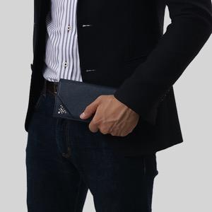プラダ 長財布 財布 メンズ サフィアーノ メタル バルティコブルー 2MV836 QME F0216 PRADA