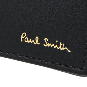ポールスミス カードケース メンズ インテリア マルチ ストライプ ブラック&マルチ M1A 4774 AMULTI 78 PAUL SMITH