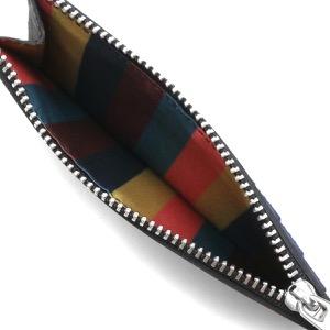 ポールスミス コインケース(小銭入れ)/カードケース 財布 メンズ ストロー ブラック&マルチ M1A 6136 GSTRGS 79 PAUL SMITH