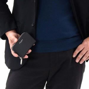 サンローランパリ イヴサンローラン コインケース【小銭入れ】/カードケース 財布 メンズ レディース クラシック ブラック 504778 B680N 1000 SAINT LAURENT PARIS