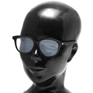 サンローランパリ イヴサンローラン 伊達メガネ メンズ レディース クラシック ウェリントン ブラック&トランスペアレントクリア CLASSIC 9 F 001 ASI SAINT LAURENT PARIS