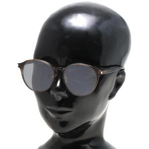 サンローランパリ イヴサンローラン サングラス メンズ レディース ウェリントン マーブルブラウン&ブラックシルバー SL 198 K SLIM 003 KOR SAINT LAURENT PARIS