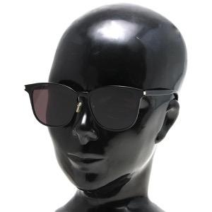 サンローランパリ イヴサンローラン サングラス メンズ レディース ウェリントン ブラック&ブラックグレー SL 199 K SLIM 001 KOR SAINT LAURENT PARIS