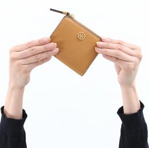 トリーバーチ 二つ折り財布/ミニ財布 財布 レディース ロビンソン ミニ カルダモンブラウン 54449 900 TORY BURCH
