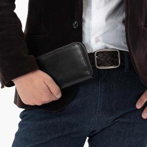 ホワイトハウスコックス 長財布 財布 メンズ エイジング ブラック S2722 BLACK WHITEHOUSE COX