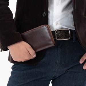ホワイトハウスコックス 長財布 財布 メンズ エイジング ハバナブラウン&タンブラウン S2722 HAVANA TAN WHITEHOUSE COX