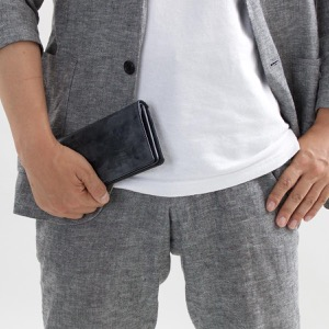 ホワイトハウスコックス 長財布 財布 メンズ エイジング ブラック S8819 BLACK WHITEHOUSE COX