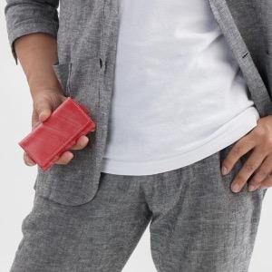 ホワイトハウスコックス キーケース メンズ エイジング レッド S9692 RED WHITEHOUSE COX