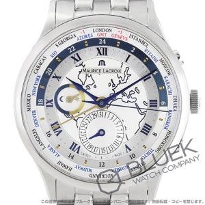 モーリス・ラクロア マスターピース トラディション ワールドタイマー GMT 腕時計 メンズ MAURICE LACROIX MP6008-SS002-111