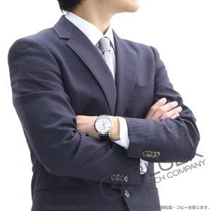 モーリス・ラクロア マスターピース カランドリエ レトログラード パワーリザーブ クロコレザー 腕時計 メンズ MAURICE LACROIX MP6508-SS001-130