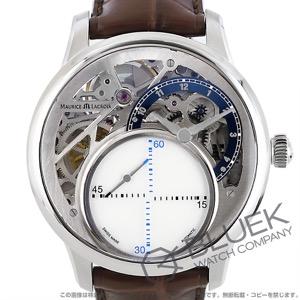 モーリス・ラクロア マスターピース ミステリアス・セコンド 世界限定250本 クロコレザー 腕時計 メンズ MAURICE LACROIX MP6558-SS001-094-2