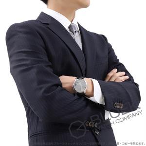 モーリス・ラクロア ポントス オフセンター ムーンフェイズ アリゲーターレザー 腕時計 メンズ MAURICE LACROIX PT6318-SS001-130