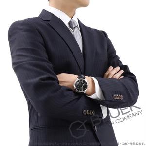 モーリス・ラクロア ポントス オフセンター ムーンフェイズ アリゲーターレザー 腕時計 メンズ MAURICE LACROIX PT6318-SS001-330