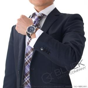モンブラン スター ワールドタイム アリゲーターレザー 腕時計 メンズ MONTBLANC 106464