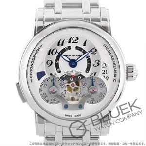 モンブラン ニコラ・リューセック オープン ホームタイム クロノグラフ 腕時計 メンズ MONTBLANC 107068