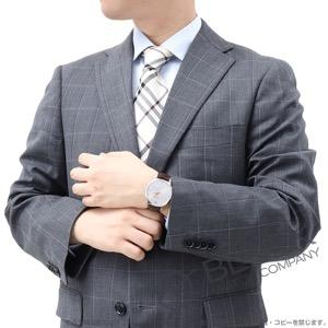 モンブラン ヘリテイジ スピリット アリゲーターレザー 腕時計 メンズ MONTBLANC 110695