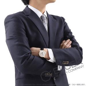 モンブラン ヘリテイジ スピリット ムーンフェイズ RG金無垢 アリゲーターレザー 腕時計 メンズ MONTBLANC 111185