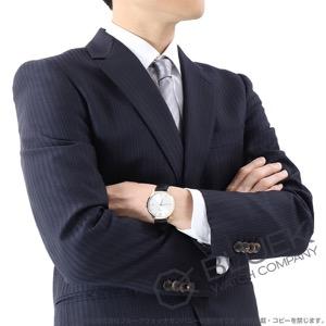 モンブラン ヘリテイジ スピリット デイト アリゲーターレザー 腕時計 メンズ MONTBLANC 111624