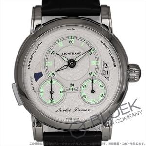 モンブラン オマージュ トゥ ニコラ・リューセック II 世界限定565本 クロノグラフ アリゲーターレザー 腕時計 メンズ MONTBLANC 111873