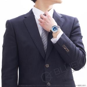 モンブラン ヘリテイジ スピリット オルビス テラルム アリゲーターレザー 腕時計 メンズ MONTBLANC 112308