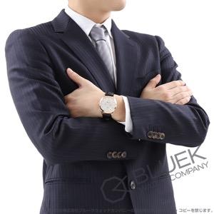 モンブラン ヘリテイジ クロノメトリー カンティエーム アニュアル ムーンフェイズ RG金無垢 アリゲーターレザー 腕時計 メンズ MONTBLANC 112535