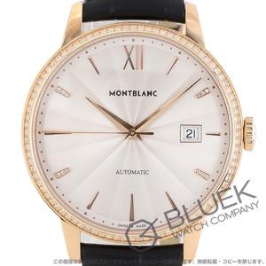 モンブラン ヘリテイジ スピリット デイト ダイヤ RG金無垢 アリゲーターレザー 腕時計 メンズ MONTBLANC 113706