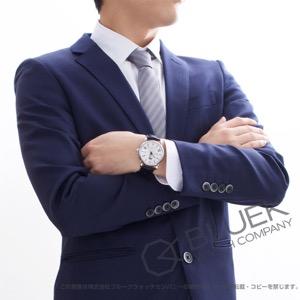 モンブラン 4810 デュアルタイム アリゲーターレザー 腕時計 メンズ MONTBLANC 114857