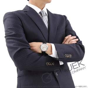 モンブラン ヘリテイジ クロノメトリー ツインカウンターデイト アリゲーターレザー 腕時計 メンズ MONTBLANC 114872