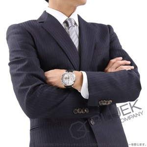 モンブラン ヘリテイジ クロノメトリー アニュアルカレンダー クロノグラフ ムーンフェイズ アリゲーターレザー 腕時計 メンズ MONTBLANC 114875