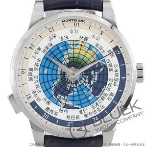 モンブラン ヘリテイジ スピリット オルビス テラルム アジア ユニセフ 世界限定500本 アリゲーターレザー 腕時計 メンズ MONTBLANC 116534