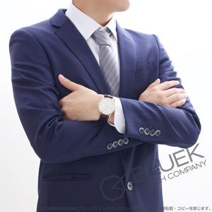 シャウボーグ クラソコ RG金無垢 腕時計 メンズ SCHAUMBURG CLASSOCO18K-WH