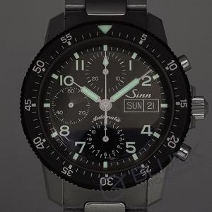 ジン クロノグラフ 腕時計 メンズ Sinn 103.031.ST-BRACELET 2