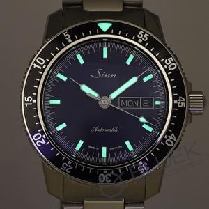 ジン 腕時計 メンズ Sinn 104.ST.SA.IB