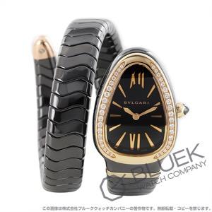 ブルガリ セルペンティ スピガ ダイヤ 腕時計 レディース BVLGARI SPC35BGDBCGD1.1T