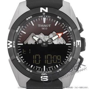 ティソ T-タッチ エキスパート ソーラー ユングフラウ鉄道 クロノグラフ 腕時計 メンズ TISSOT T091.420.46.051.10