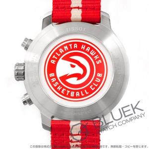 ティソ T-スポーツ クイックスター NBAアトランタ・ホークス クロノグラフ 腕時計 メンズ TISSOT T095.417.17.037.29