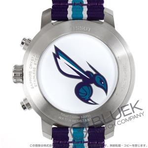 ティソ T-スポーツ クイックスター NBAシャーロット・ホーネッツ クロノグラフ 腕時計 メンズ TISSOT T095.417.17.037.30