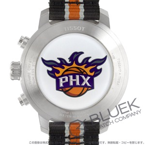ティソ T-スポーツ クイックスター NBAフェニックス・サンズ クロノグラフ 腕時計 メンズ TISSOT T095.417.17.037.34