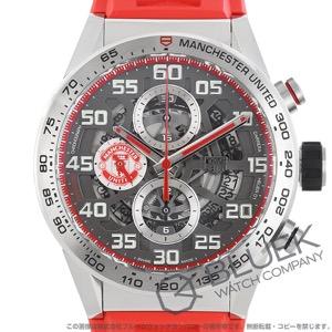 タグホイヤー カレラ ホイヤー01 マンチェスター・ユナイテッド スペシャルエディション クロノグラフ 腕時計 メンズ TAG Heuer CAR201M.FT6156