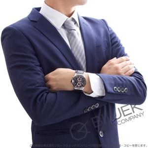 タグホイヤー カレラ ホイヤー01 クロノグラフ アリゲーターレザー 腕時計 メンズ TAG Heuer CAR201U.FC6405
